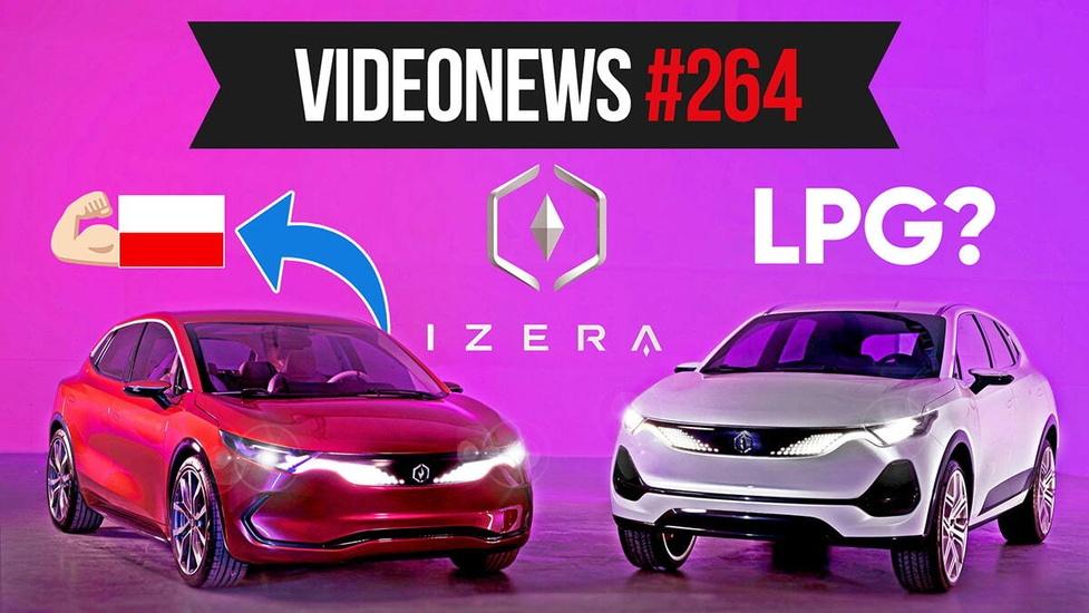 Polskie auto na prąd Izera, TikTok do odstrzału? - VideoNews #264