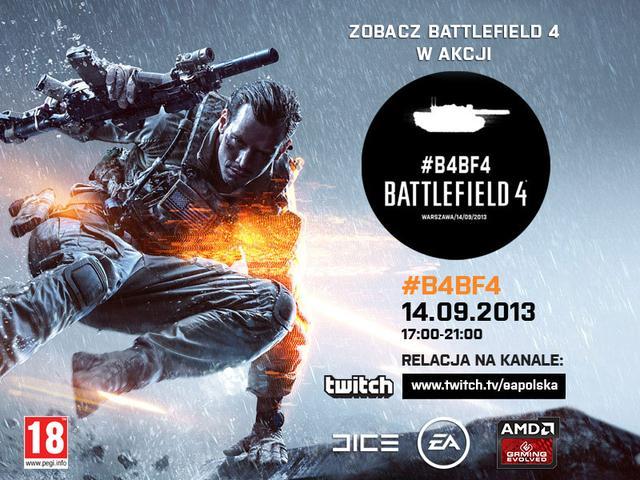 Zobacz jak Polacy grają w Battlefield 4!