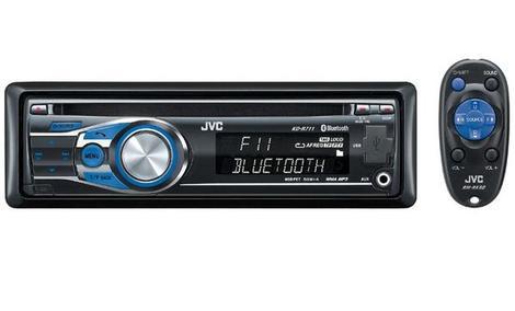 JVC KD-R711 - nowoczesny radioodtwarzacz samochodowy