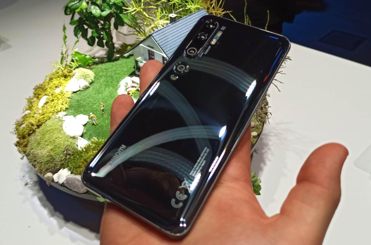 Xiaomi Mi Note 10 z tyłu