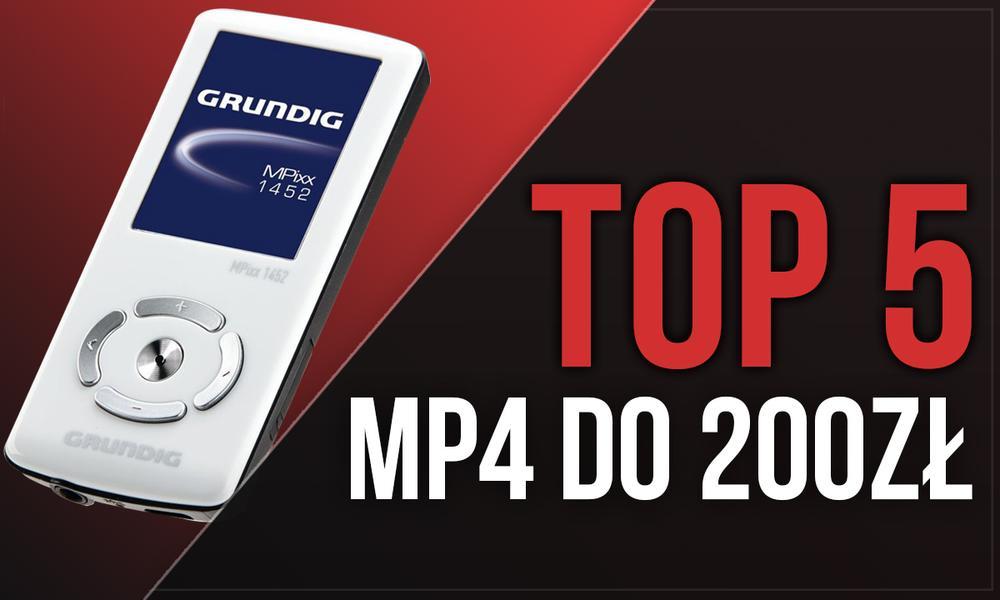 TOP 5 MP4 za Mniej Niż 200 zł – Zabierz Ulubioną Muzykę ze Sobą