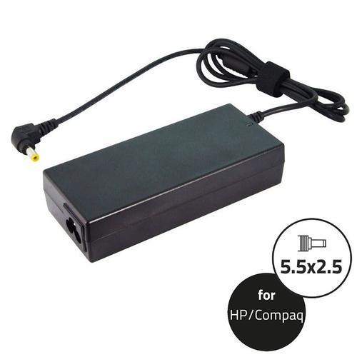 Qoltec Zasilacz do HP Compaq 90W   18.5V   4.9A   5.5*2.5