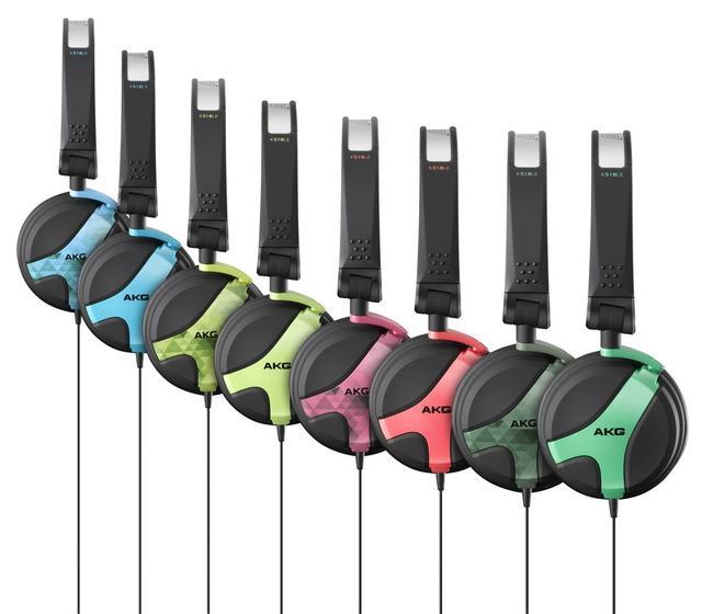 AKG K518 - popularne słuchawki nauszne