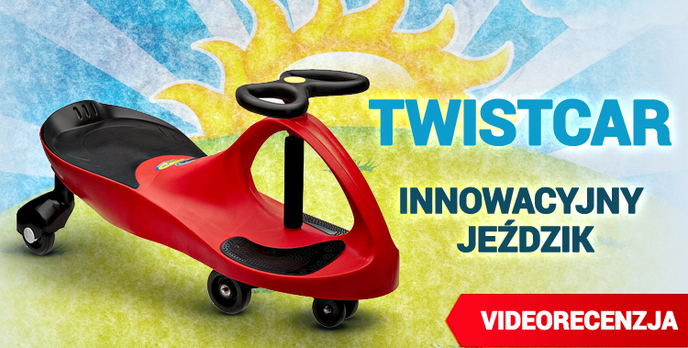 TwistCar - Innowacyjny Jeździk