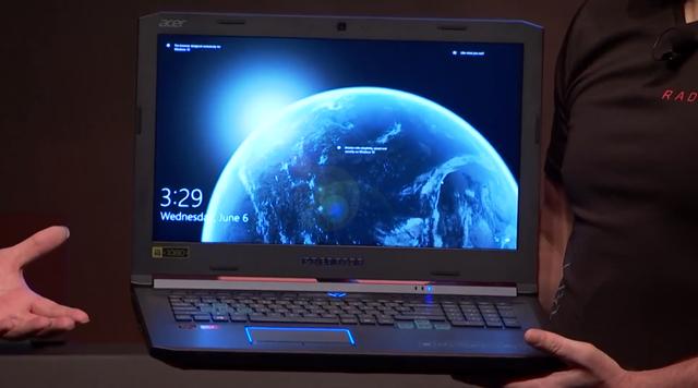 Acer Predator Helios 500 AMD