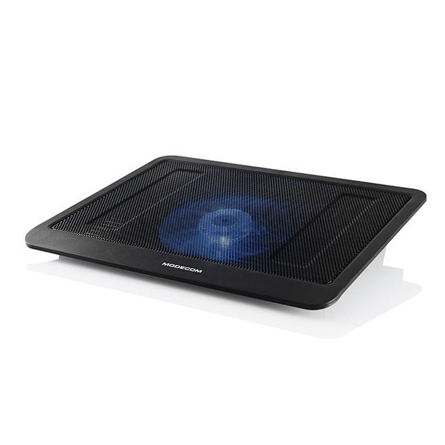 MODECOM SILENT FAN MC-CF13 - wygoda i bezpieczeństwo pracy z laptopem