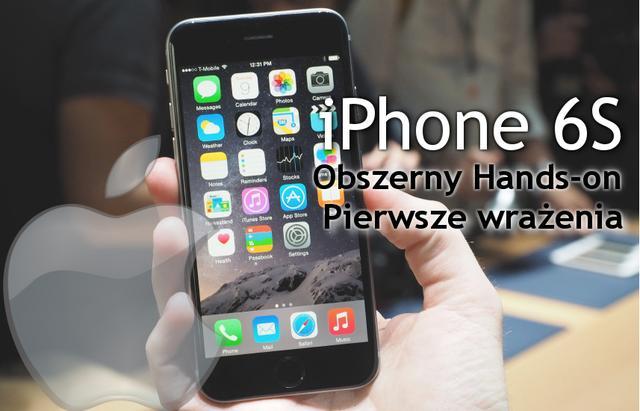 iPhone 6S i iPhone 6S Plus już w Sprzedaży!