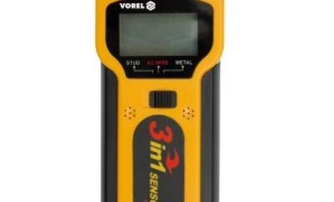 VOREL 81785 - łatwy w obsłudze wykrywacz metalu, przewodów i drewna