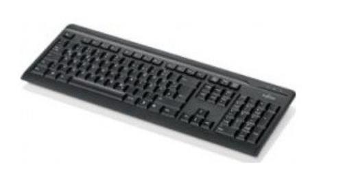 Fujitsu KB410 USB Black US S26381-K511-L402