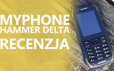 myPhone Hammer Delta - Odporny Klawiszowiec