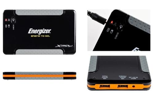 ENERGIZER Akumulator PowerBank XP4001 / 4000mAh/ Apple Ipad iPhone/ Ładowarka Uniwersalna /2-wyjscia