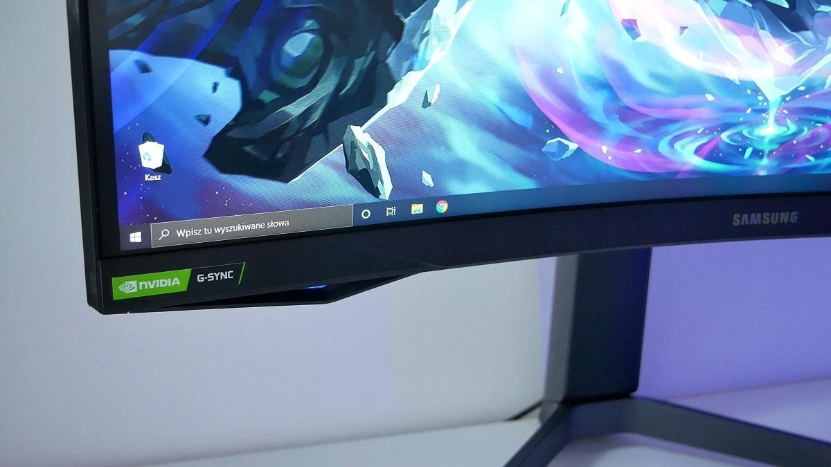 Samsung G7 Odyssey technologia G-Sync