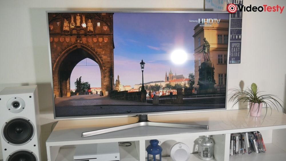 Samsung UE55NU7472 jakość obrazu