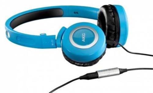 AKG K430 Jasnoniebieskie Słuchawki zamknięte