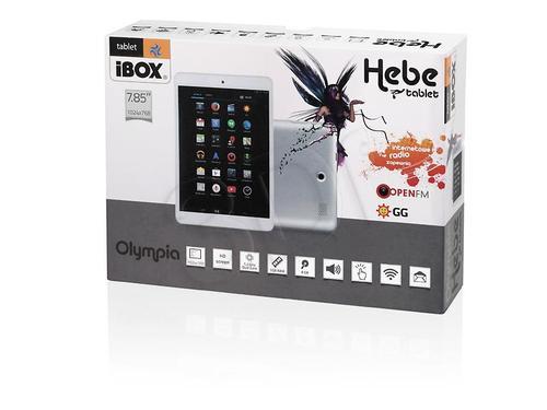 "I-BOX HEBE 7,85"" DUAL CORE 1GB DDR3"