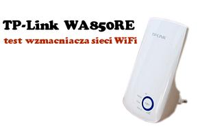 TP Link Wzmacniacz sygnału WiFi TL-WA850RE Test Extendera