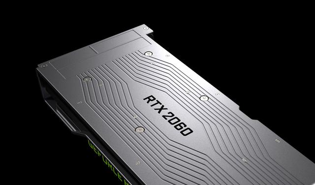 NVIDIA RTX 2060 - backplate