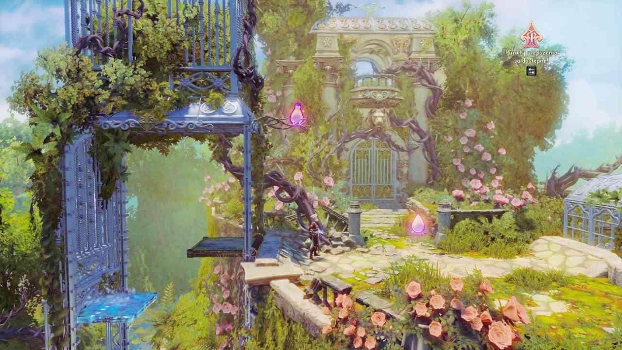 Trine 4: The Nightmare Prince - Piękna oprawa graficzna