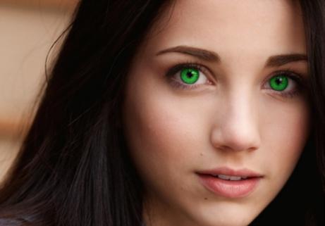 Zmiana Koloru Oczu GIMP