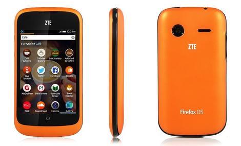ZTE Open - budżetowy smartfon z systemem Firefox OS