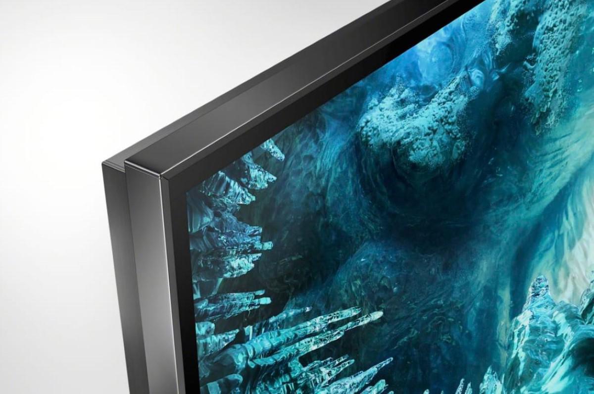 Cienka ramka telewizora Sony ZH8
