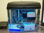 Komputer w akwarium