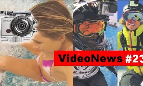 VideoNews #23 - kamera sportowa w dobrej cenie - Manta MM336