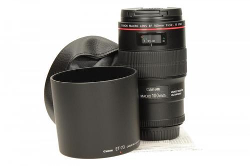 Canon EF 100MM 2.8IS USM MACRO 3554B005