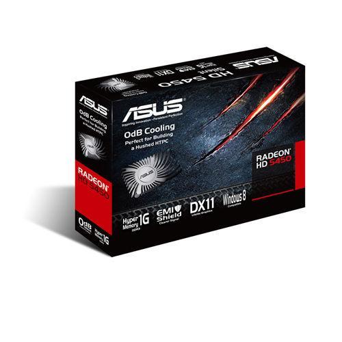 Asus Radeon HD5450 512MB DDR3 PCI-E 32BIT DVI/HDMI/DSub BOX