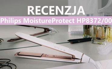 Recenzja Prostownicy do Włosów Philips MoistureProtect HP8372/00