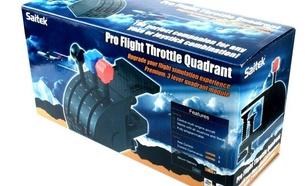 Saitek PRO FLIGHT Throttle Quadrant (Przepustnica)