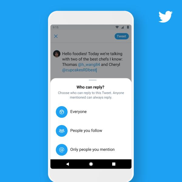 Nowa funkcja blokowania odpowiedzi na Twitterze