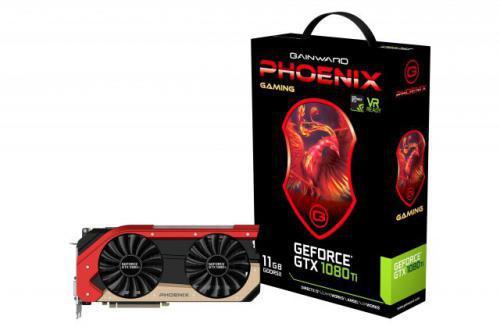 Gainward GeForce GTX 1080 Ti Phoenix 11GB GDDR5X (352 bit), DVI-D, HDMI, 3xDisplayPort, BOX