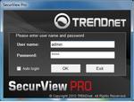 SecurView Pro - zaawansowane oprogramowanie dla kamer ip od Trendnet