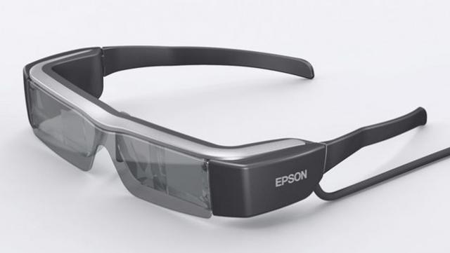 Epson Moverio BT-200 - okulary z systemem rzeczywistości rozszerzonej