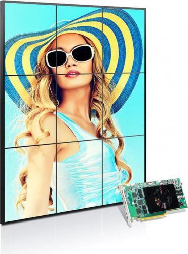 Matrox C900 4GB GDDR5 (128 Bit) 9x miniHDMI (C900-E4GBF)