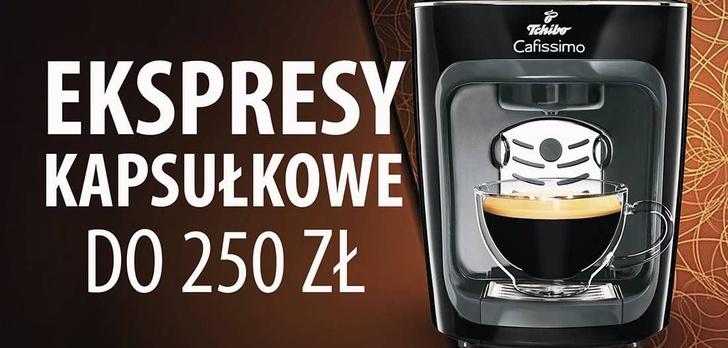 Jaki kapsułkowy ekspres do kawy do 250 zł?  TOP 5 