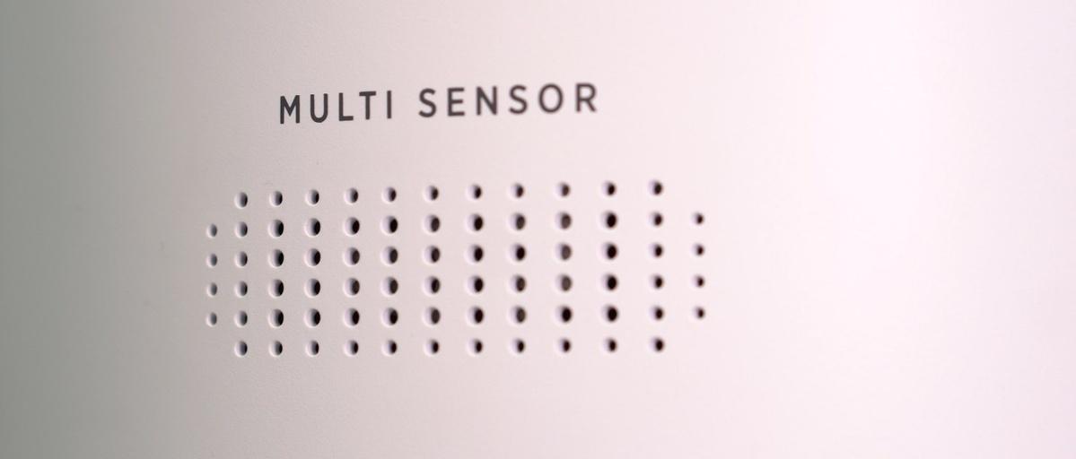 Multi Sensor w oczyszczaczu Hoover rozpoznaje wiele rodzajów zanieczyszczeń