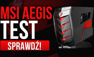 Recenzja Gamingowego Komputera MSI Aegis