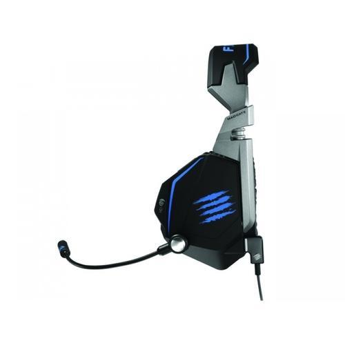 Madex Słuchawki z mikrofonem F.R.E.Q. T.E. PC/Mobile Matt Black