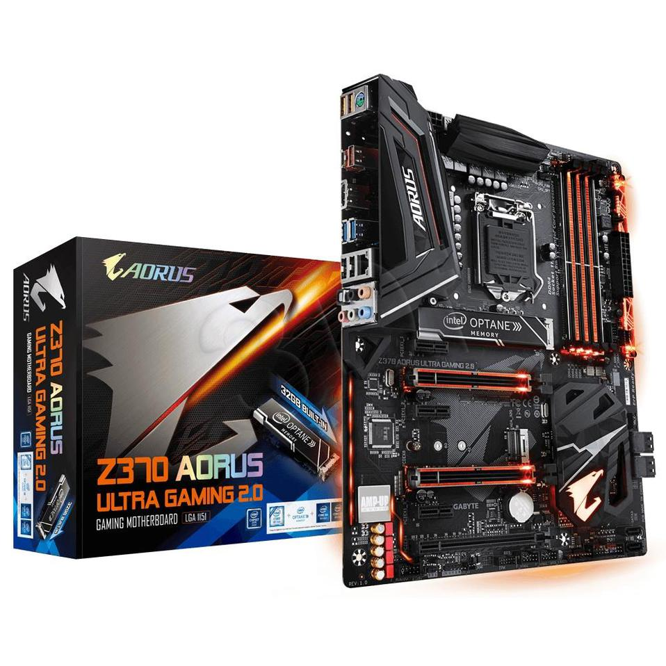 Gigabyte Z370 AORUS ULTRA GAMING 2.0-OP ( LGA 1151 ; 4x DDR4 DIMM ;