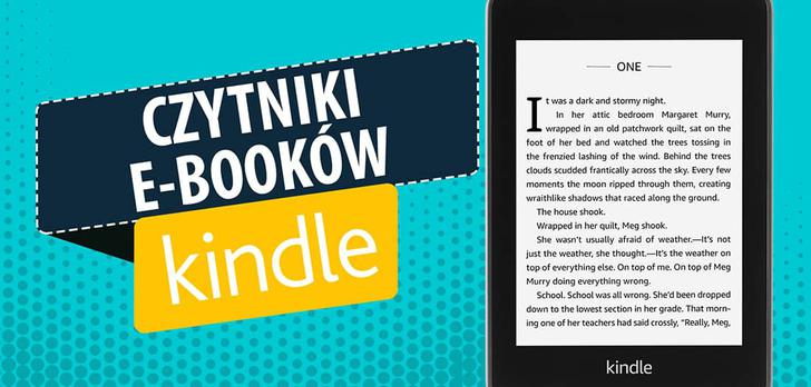 Czytniki e-booków Kindle |TOP 4|