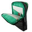 4World Torba z kieszeniami | tablet | 270x210x25mm | 10.1 | czarno-zielone