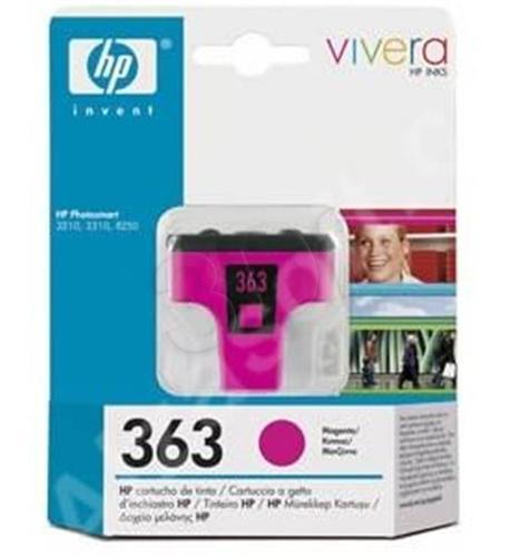 HP Tusz Czerwony HP363M=C8772EE, 350 str., 3.5 ml