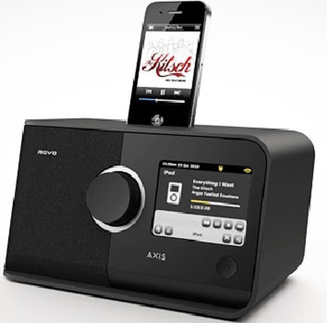 C4i Revo Axis XS - radio internetowe ze stacją dla iPhone'a