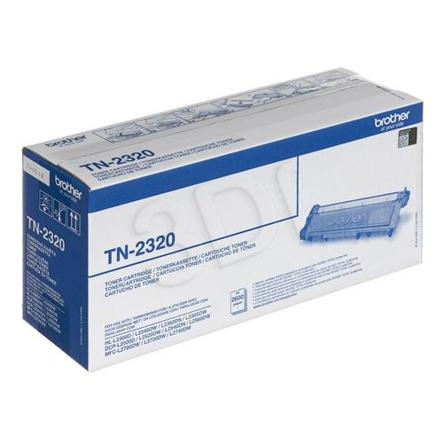 BROTHER Toner Czarny TN2320=TN-2320, 2600 str.