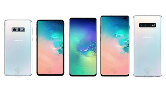 Galaxy S10 w trzech wersjach
