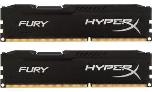 HyperX DDR3 Fury 16GB/ 1866 (2*8GB) CL10 BLACK
