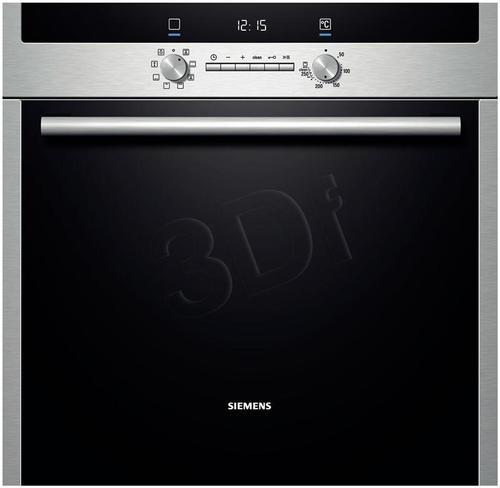SIEMENS HB 43GB540 (elektroniczno- mechaniczny/ inox)