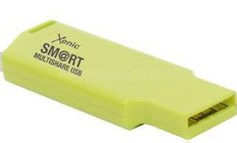 Xenic Smart Multishare USB - łatwe udostępnianie treści ze smartfonów